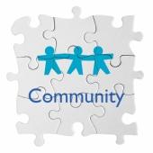 community three people