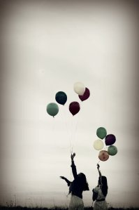 Letting go Balloons